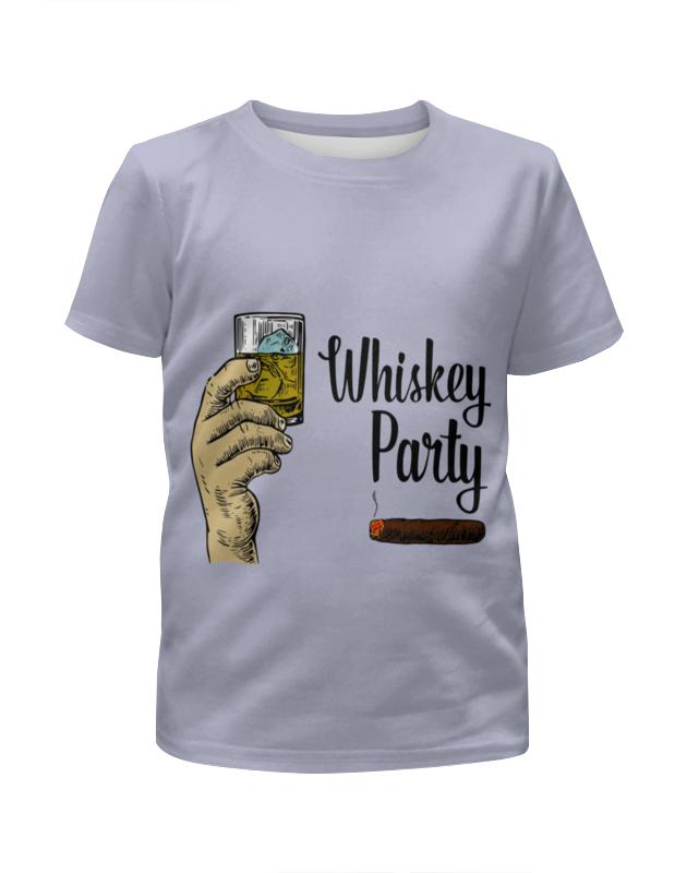 Футболка с полной запечаткой для мальчиков Printio Whiskey party arbor whiskey vegans deck 7 5