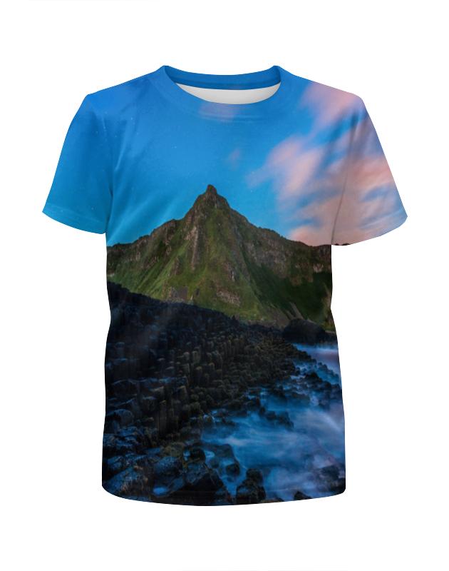 Футболка с полной запечаткой для мальчиков Printio Горный склон футболка с полной запечаткой для мальчиков printio горный ручей