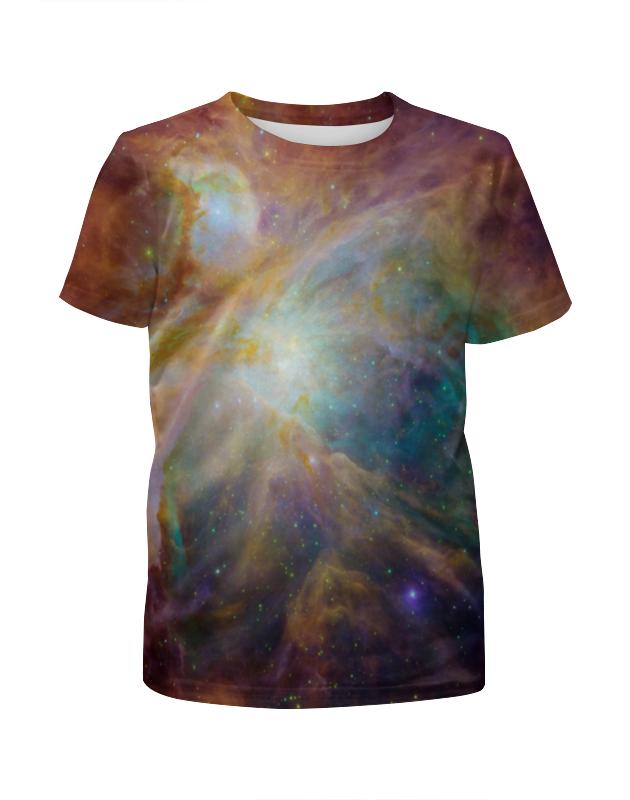 Printio Космические краски футболка с полной запечаткой для мальчиков printio космические приключения