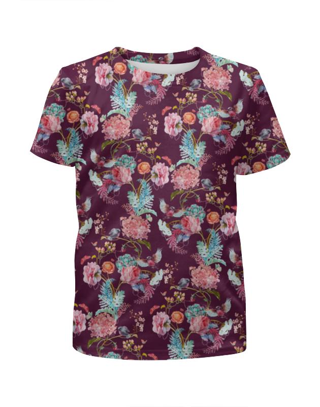 Printio Цветы футболка с полной запечаткой для мальчиков printio фантастические цветы