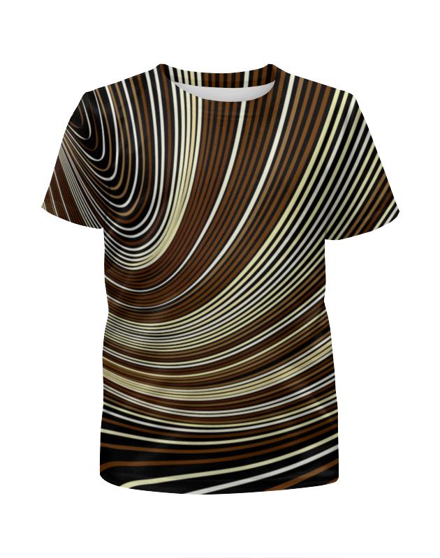 Футболка с полной запечаткой для мальчиков Printio Линии футболка с полной запечаткой женская printio линии