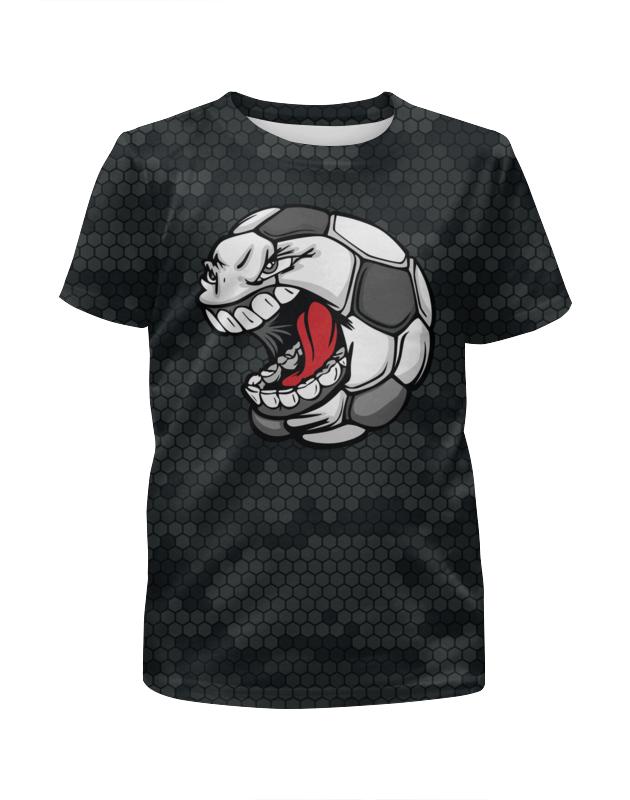 Футболка с полной запечаткой для мальчиков Printio Футбол футболка с полной запечаткой для мальчиков printio на отдых
