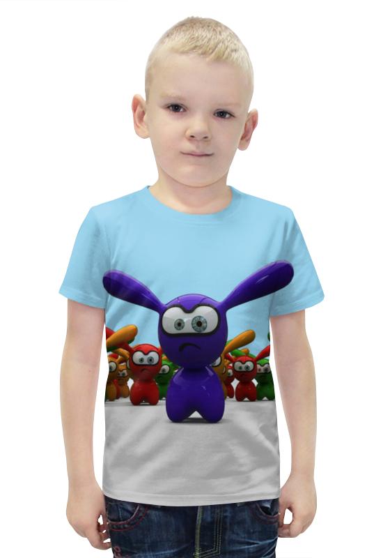 Футболка с полной запечаткой для мальчиков Printio Кролики футболка с полной запечаткой для мальчиков printio slove arsb