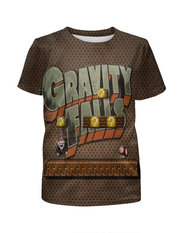 Футболка с полной запечаткой для мальчиков Printio Gravity falls футболка с полной запечаткой для мальчиков printio пузыри 3d