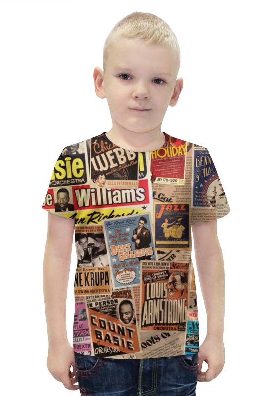 Футболка с полной запечаткой для мальчиков Printio Jazz legends футболка с полной запечаткой для мальчиков printio jazz legends
