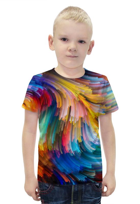 Футболка с полной запечаткой для мальчиков Printio Краски футболка с полной запечаткой для мальчиков printio bats spawn arsb