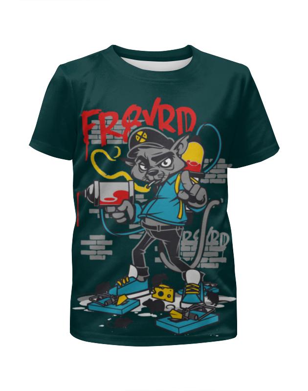 Футболка с полной запечаткой для мальчиков Printio Swag art футболка с полной запечаткой для мальчиков printio bats spawn arsb