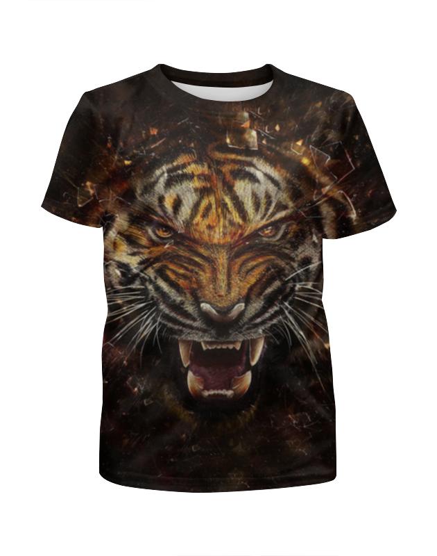 лучшая цена Printio Ревущий тигр