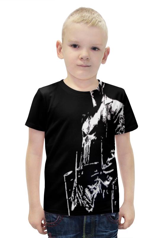 Футболка с полной запечаткой для мальчиков Printio Каратель футболка с полной запечаткой для мальчиков printio bats spawn arsb
