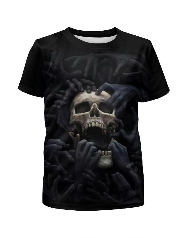 Футболка с полной запечаткой для мальчиков Printio Skull art футболка рингер printio skull art