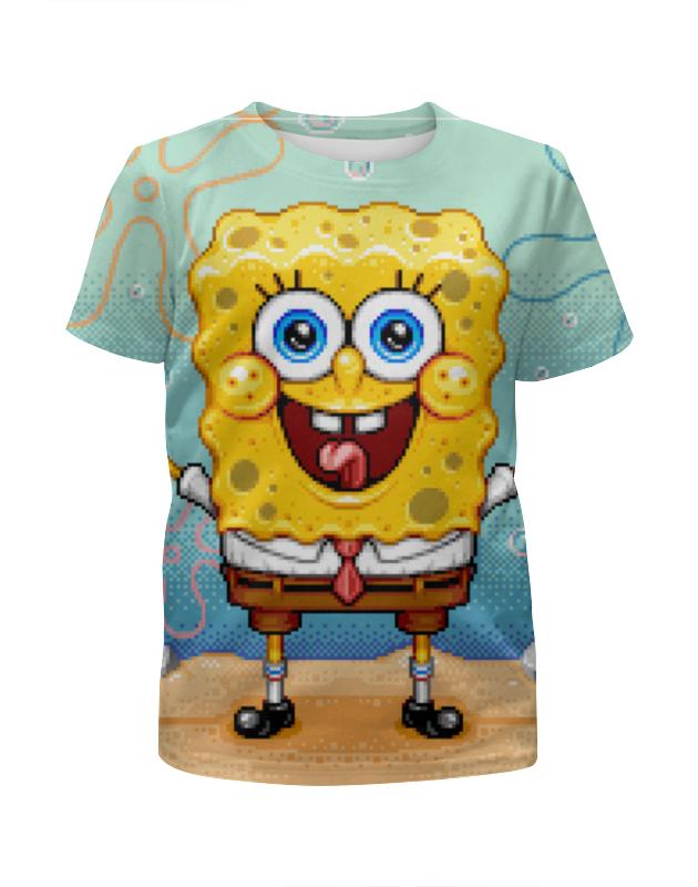 Футболка с полной запечаткой для мальчиков Printio Спанч боб футболка с полной запечаткой для мальчиков printio сланцы