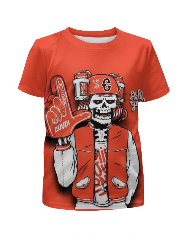 Футболка с полной запечаткой для мальчиков Printio Bones brigade bones шапка bones swiss pom one size