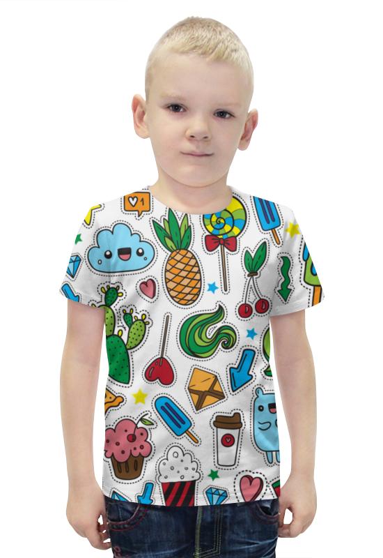 Футболка с полной запечаткой для мальчиков Printio Вкусняшка футболка с полной запечаткой для мальчиков printio bats spawn arsb