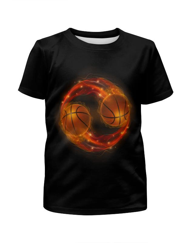 Футболка с полной запечаткой для мальчиков Printio Огненные мячи футболка с полной запечаткой для мальчиков printio bats spawn arsb
