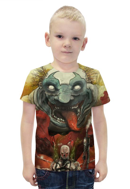 Футболка с полной запечаткой для мальчиков Printio Спаун (spawn) футболка с полной запечаткой printio bats spawn arsb