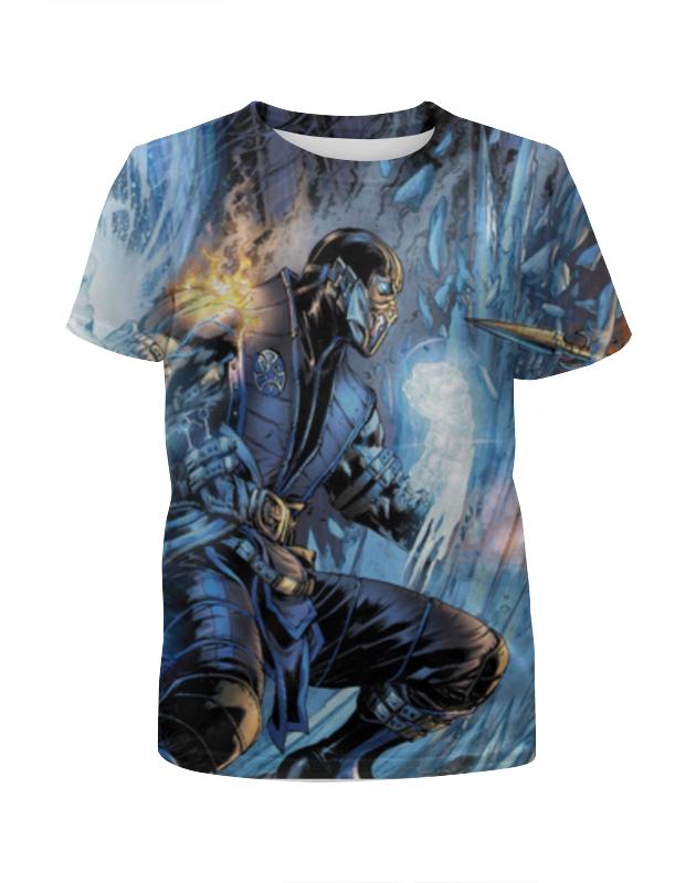 Футболка с полной запечаткой для мальчиков Printio Mortal kombat футболка с полной запечаткой для мальчиков printio mortal kombat x brotherhood of shadow