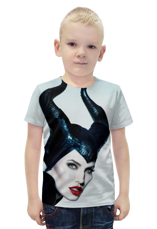 Футболка с полной запечаткой для мальчиков Printio Малефисента футболка с полной запечаткой для мальчиков printio bats spawn arsb