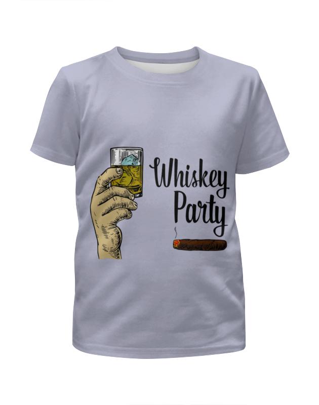 Футболка с полной запечаткой для мальчиков Printio Whiskey party футболка с полной запечаткой для мальчиков printio bats spawn arsb