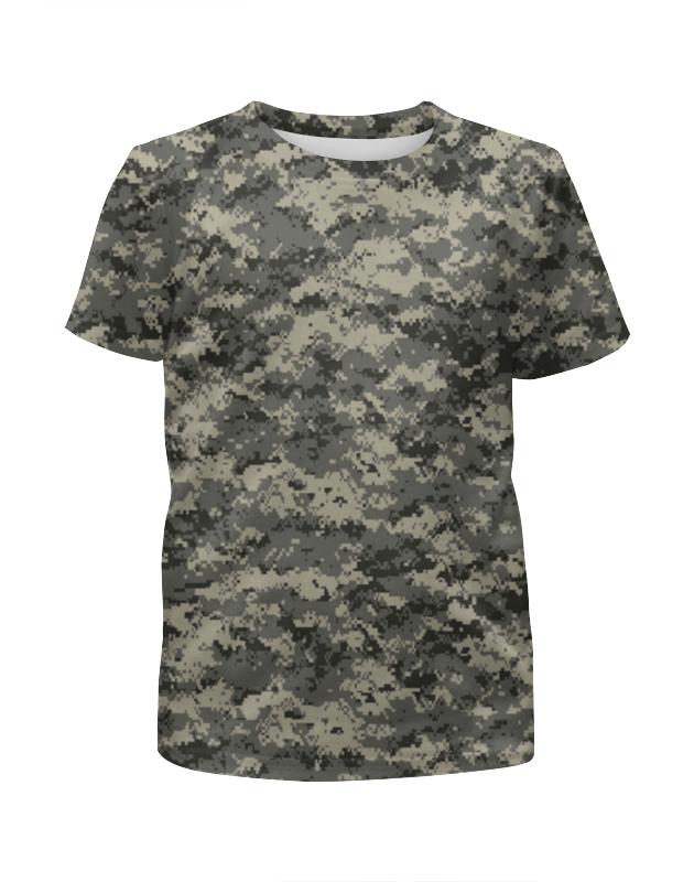 Футболка с полной запечаткой для мальчиков Printio Милитари в минске рубашку милитари