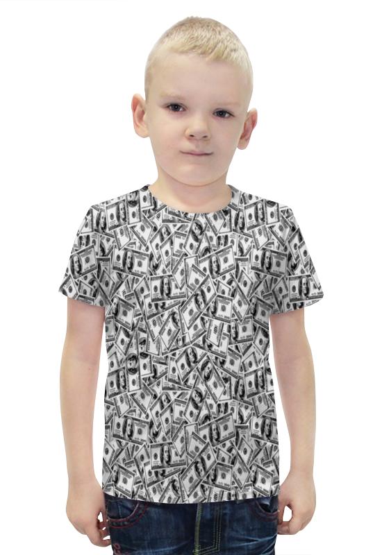 Футболка с полной запечаткой для мальчиков Printio Доллар футболка с полной запечаткой для мальчиков printio bats spawn arsb