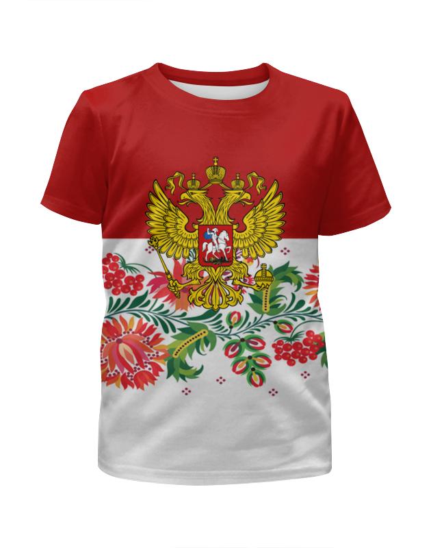 Printio Герб рф рубашка поло с полной запечаткой printio герб рф