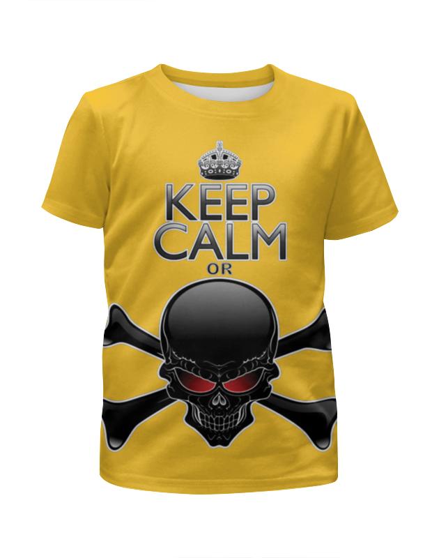 Футболка с полной запечаткой для мальчиков Printio Череп футболка с полной запечаткой для мальчиков printio bones brigade
