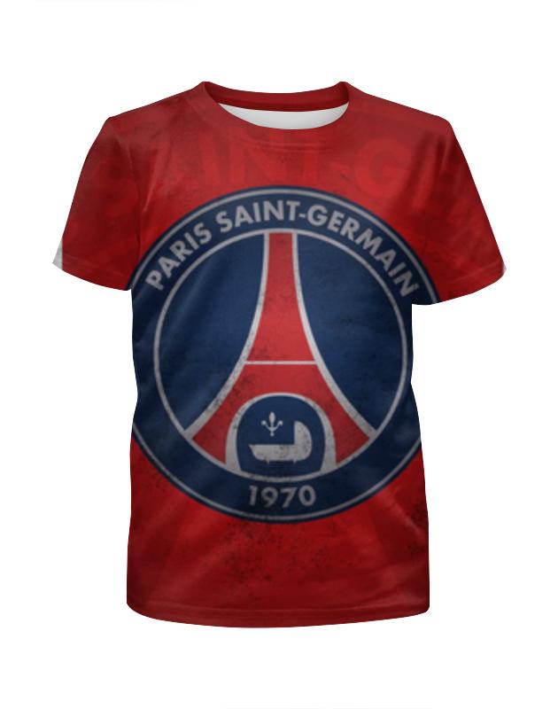 Футболка с полной запечаткой для мальчиков Printio Пари сен-жермен (псж) lille losc paris saint germain fc