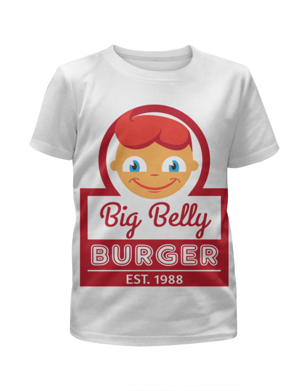 Printio Big belly burger цена и фото