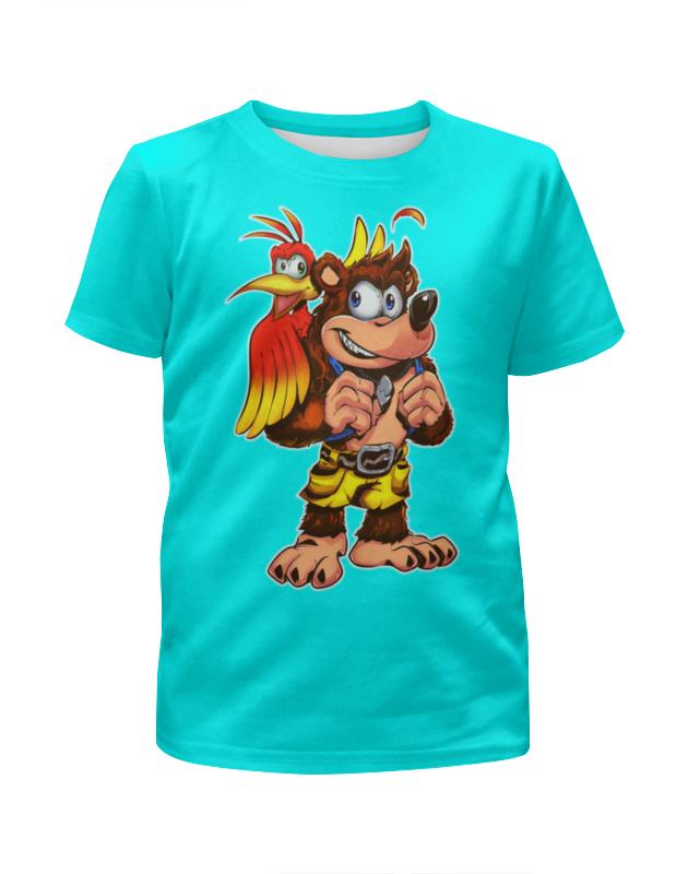 Printio Собачка с попугаем футболка с полной запечаткой для мальчиков printio собачка