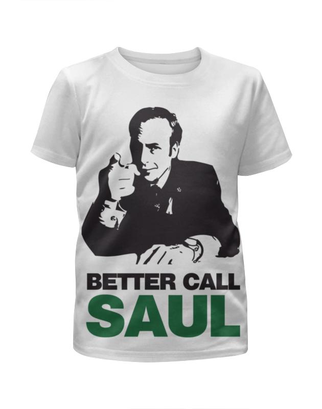 Футболка с полной запечаткой для мальчиков Printio Better call saul футболка с полной запечаткой для мальчиков printio кал оф дьюти call of duty игры