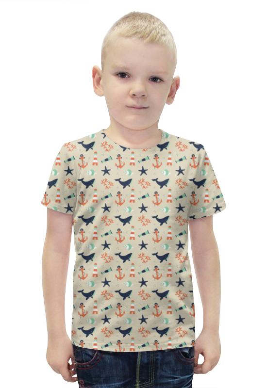 Футболка с полной запечаткой для мальчиков Printio Акулы футболка с полной запечаткой для мальчиков printio slove arsb