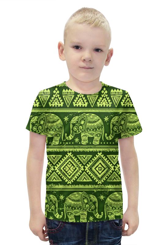 Футболка с полной запечаткой для мальчиков Printio Слоны футболка с полной запечаткой для мальчиков printio slove arsb