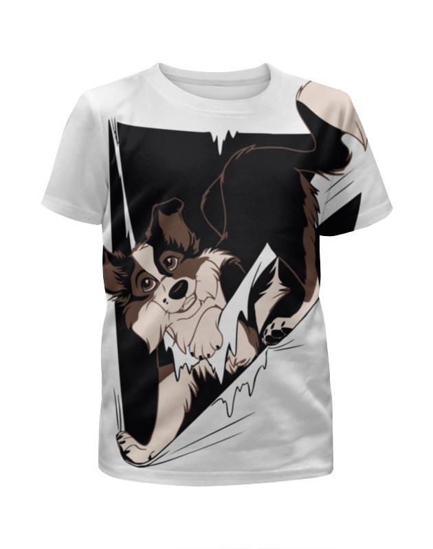 Футболка с полной запечаткой для мальчиков Printio Собака ( dog ) футболка с полной запечаткой для мальчиков printio pin claus chimney собака пес