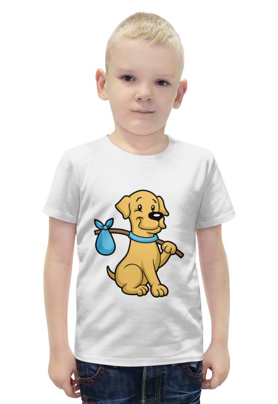Printio Пёс-бродяга футболка с полной запечаткой для мальчиков printio пёс оператор