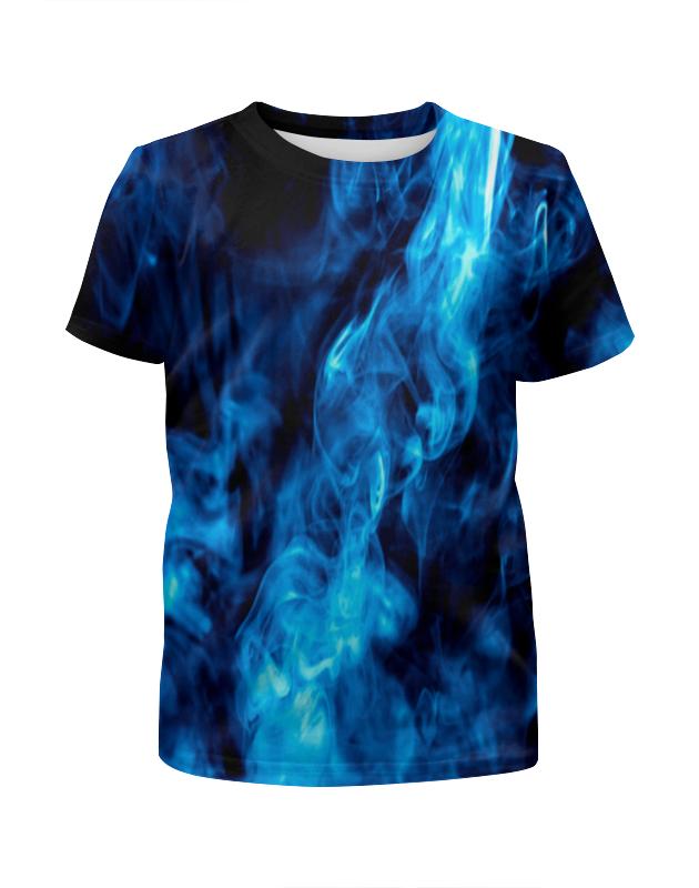 Футболка с полной запечаткой для мальчиков Printio Smoke футболка с полной запечаткой для мальчиков printio braaaaatnsssss