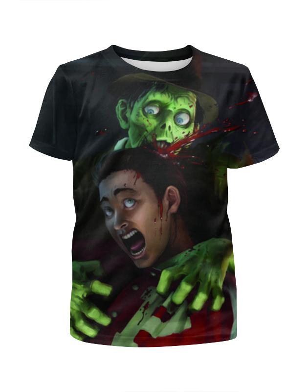 Printio Stubbs the zombie футболка с полной запечаткой для мальчиков printio zombie art