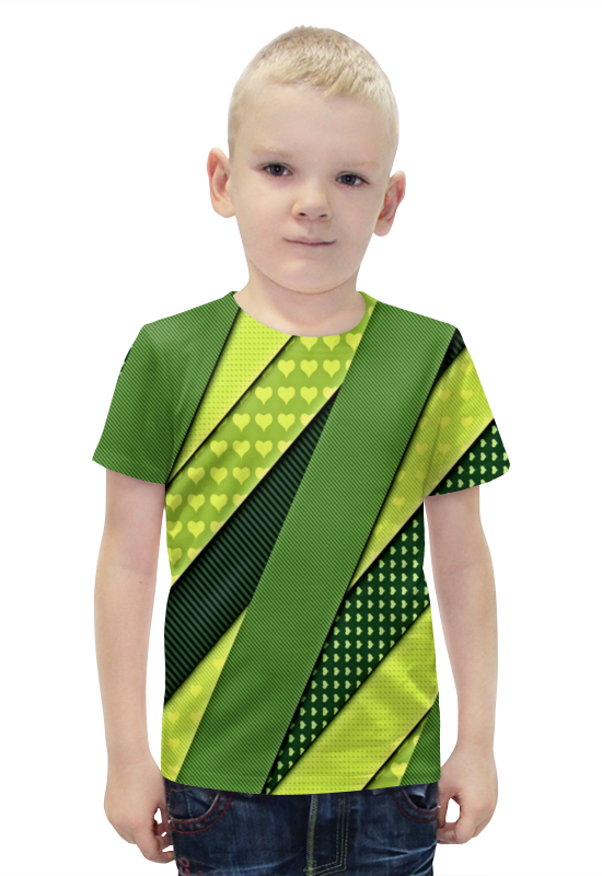 Футболка с полной запечаткой для мальчиков Printio Сердца футболка с полной запечаткой для мальчиков printio bats spawn arsb