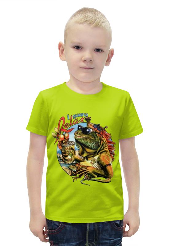 Футболка с полной запечаткой для мальчиков Printio Релакс футболка с полной запечаткой для мальчиков printio slove arsb