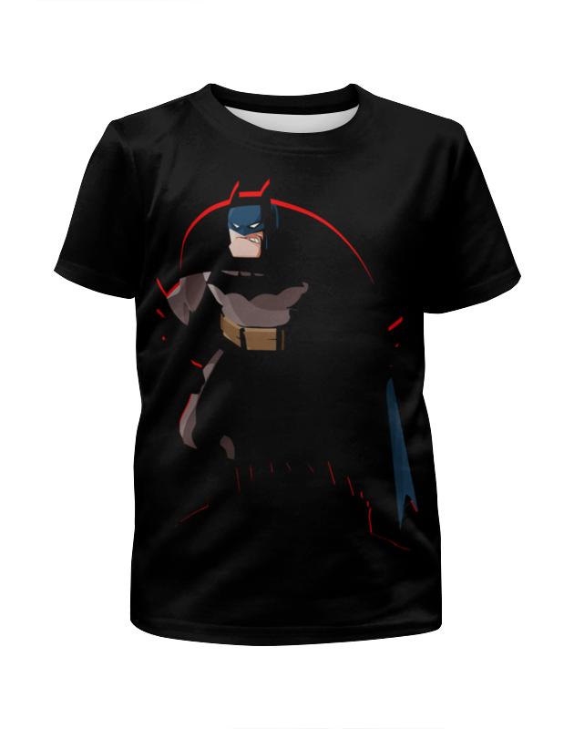 Printio Бэтмен (batman) футболка с полной запечаткой для мальчиков printio бэтмен batman