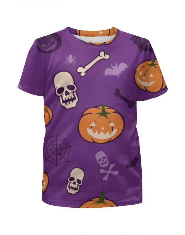 Футболка с полной запечаткой для мальчиков Printio Halloween ostin футболка для мальчиков