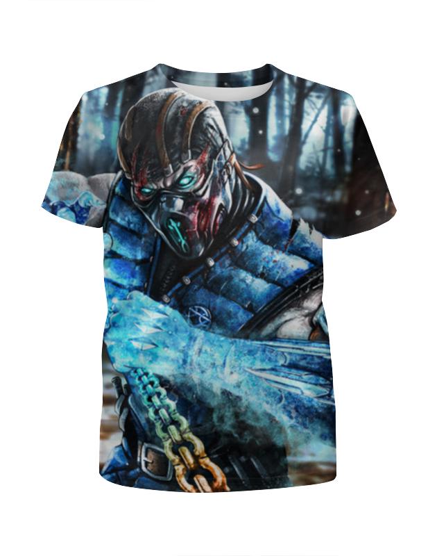 Футболка с полной запечаткой для мальчиков Printio Mortal kombat футболка с полной запечаткой для мальчиков printio москва россия