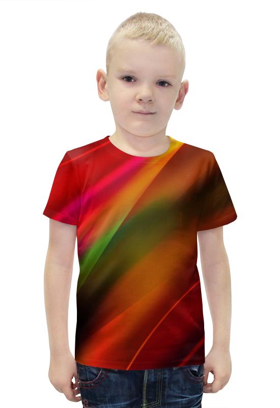 Футболка с полной запечаткой для мальчиков Printio Абстракция футболка с полной запечаткой для мальчиков printio bats spawn arsb