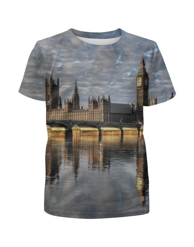 Футболка с полной запечаткой для мальчиков Printio Лондон футболка с полной запечаткой для девочек printio вечерний лондон