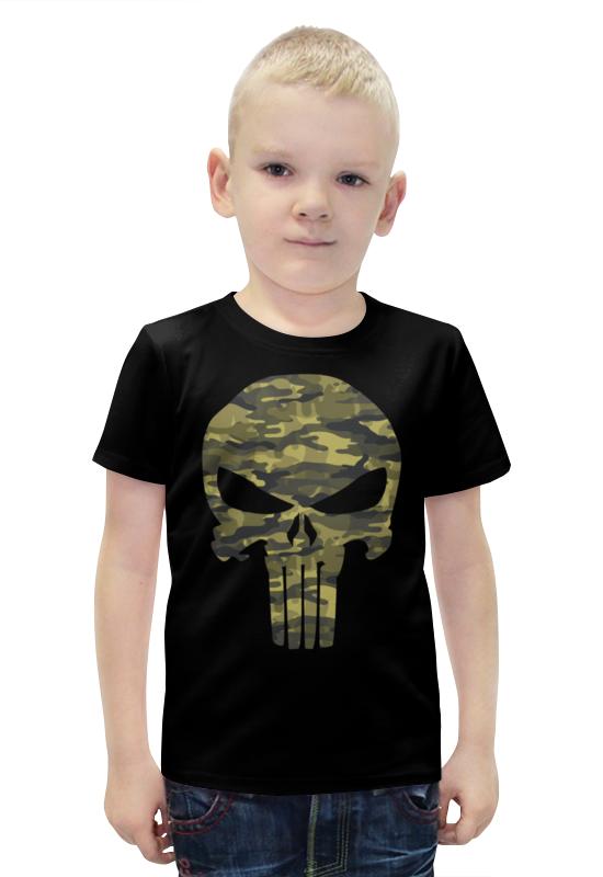 Футболка с полной запечаткой для мальчиков Printio Каратель футболка с полной запечаткой для мальчиков printio slove arsb