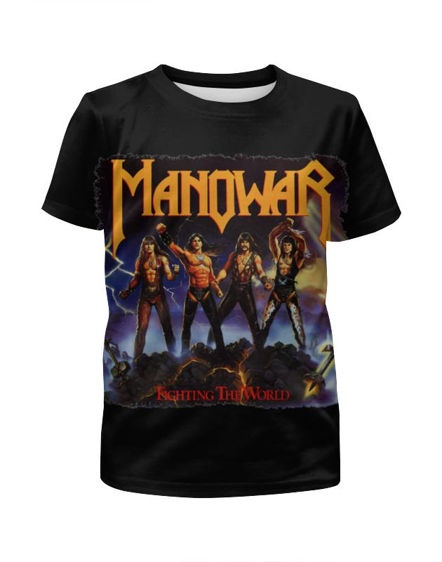 Футболка с полной запечаткой для мальчиков Printio Manowar band футболка с полной запечаткой для мальчиков printio stryper band