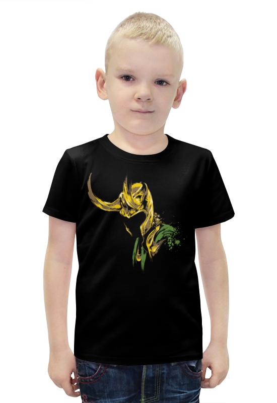 Футболка с полной запечаткой для мальчиков Printio Локи (loki) футболка с полной запечаткой для мальчиков printio фруктовая