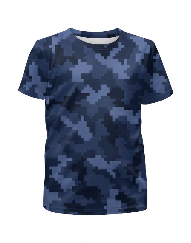 Футболка с полной запечаткой для мальчиков Printio Текстура камуфляжа футболка с полной запечаткой для мальчиков printio bats spawn arsb