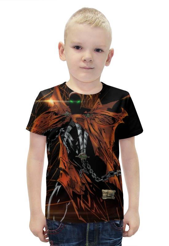 Футболка с полной запечаткой для мальчиков Printio Spawn футболка с полной запечаткой printio bats spawn arsb