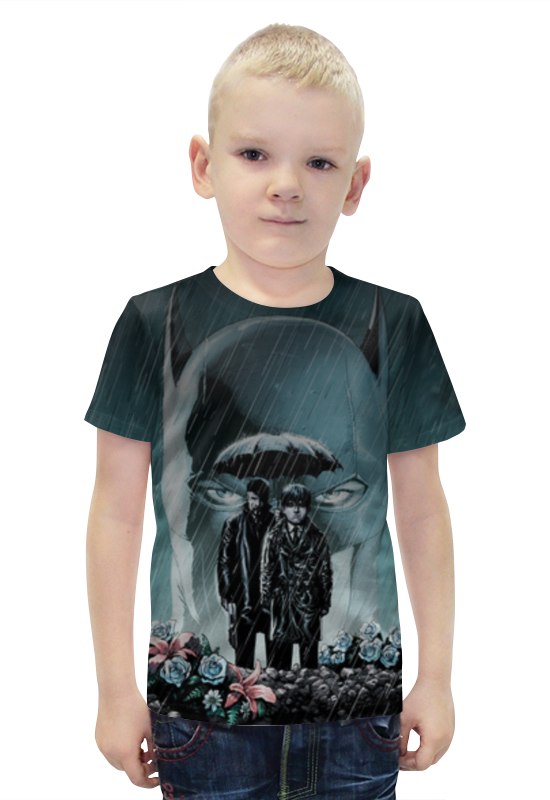 Футболка с полной запечаткой для мальчиков Printio Batman футболка с полной запечаткой для мальчиков printio bats spawn arsb