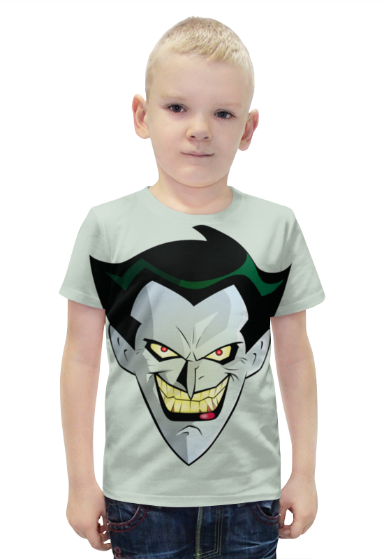 Футболка с полной запечаткой для мальчиков Printio Джокер футболка с полной запечаткой для мальчиков printio bats spawn arsb